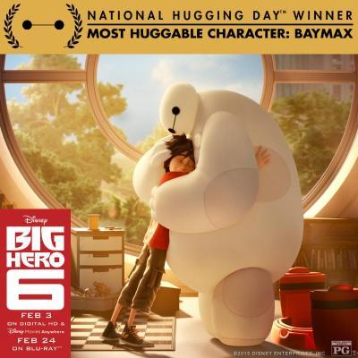 Big Hero 6 hugging day