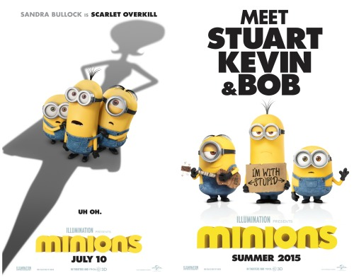 minions posters