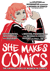 She Makes Comics onesheet