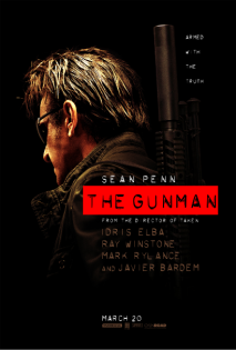the gunman onesheet