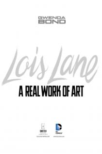 Lois Lane work of art cover