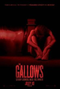 the gallows onesheet