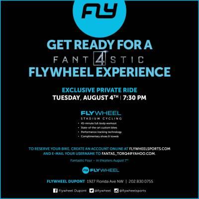 Flywheel Fantastic Four Dupont