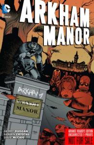 Arkham Manor cover
