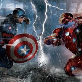 Civil War cap iron man