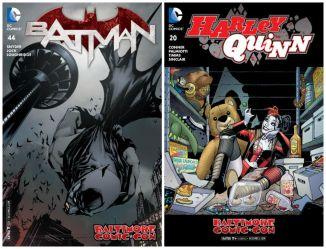 Batman Harley Variants BCC