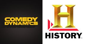 logo comedy dynamics history channel