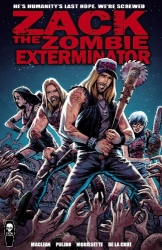 Zack The Zombie Exterminator - just in time for Halloween (PRNewsFoto/Coffin Comics)