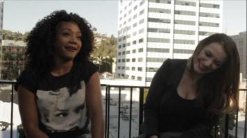 Director Rachel Mullins interviews Tiffany Haddish (Actress) (PRNewsFoto/Jamie Noel Productions)