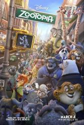 ZOOTOPIA one sheet
