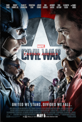 Captain America Civil War first onesheet