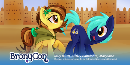 BronyCon 2016 GM Berrow Announcement Banner