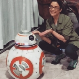 me and bb8 awesome con