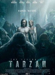 legend of tarzan onesheet