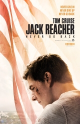 Jack Reacher never go back poster 1