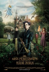 Miss Peregrines Home for Peculiar Children onesheet