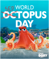 Finding Dory Hank World Septopus Day