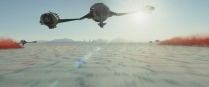 Star Wars: The Last Jedi The planet Crait Photo: Film Frames Industrial Light & Magic/Lucasfilm ©2017 Lucasfilm Ltd. All Rights Reserved.